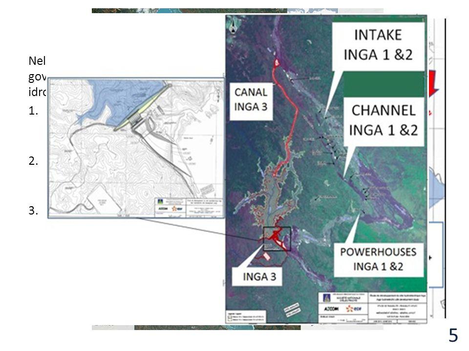 Progetto Nell'ambito del progetto «Grand Inga», finanziato da numerose banche e governi internazionali, è prevista la costruzione di altre sei dighe c