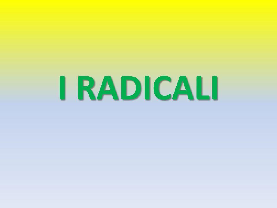 I RADICALI