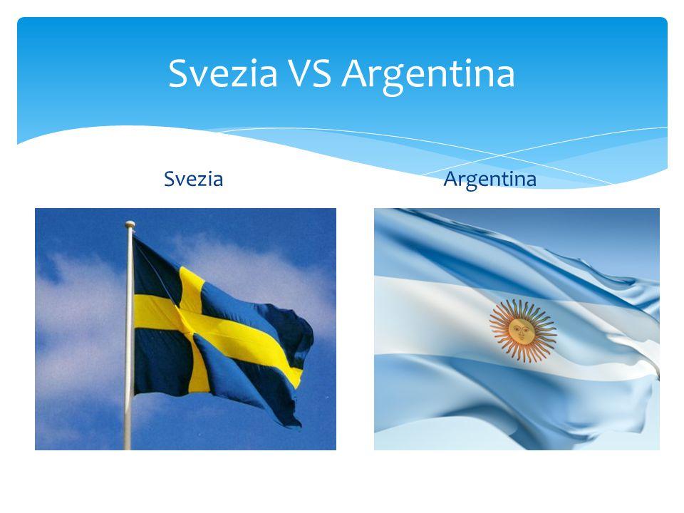 Svezia VS Argentina SveziaArgentina