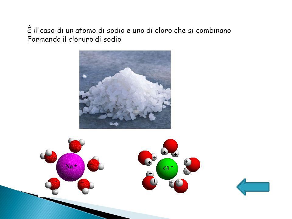È il caso di un atomo di idrogeno e uno di cloro che si combinano formando il cloruro di idrogeno o acido cloridrico