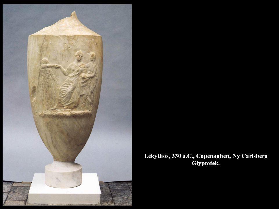 Lekythos, 330 a.C., Copenaghen, Ny Carlsberg Glyptotek.