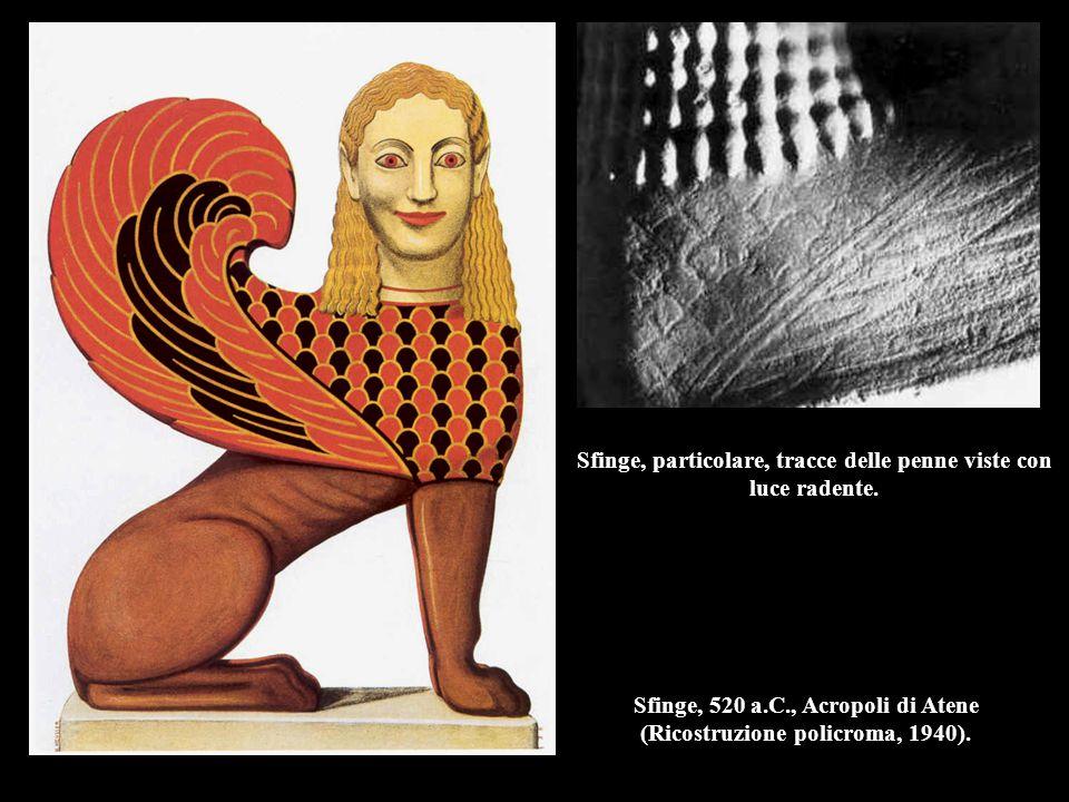 Testa di giovane con la benda da vincitore, 20 a.C., Monaco, Glyptothek. Ricostruzione policroma.