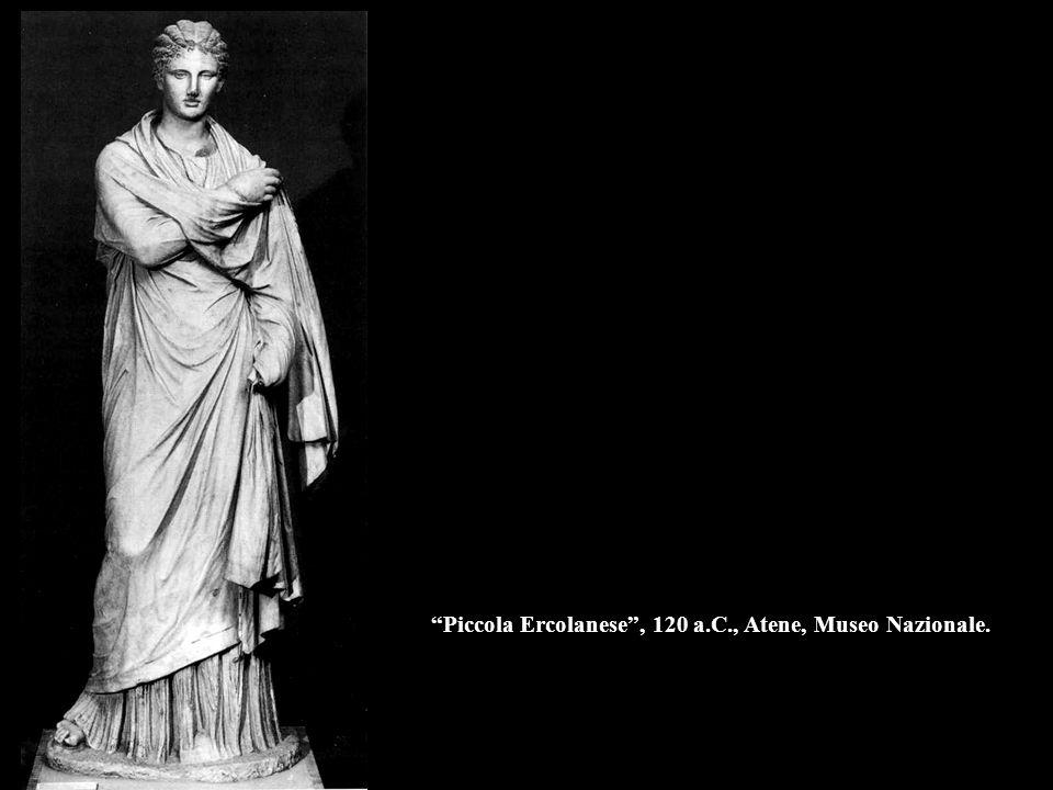 """""""Piccola Ercolanese"""", 120 a.C., Atene, Museo Nazionale."""