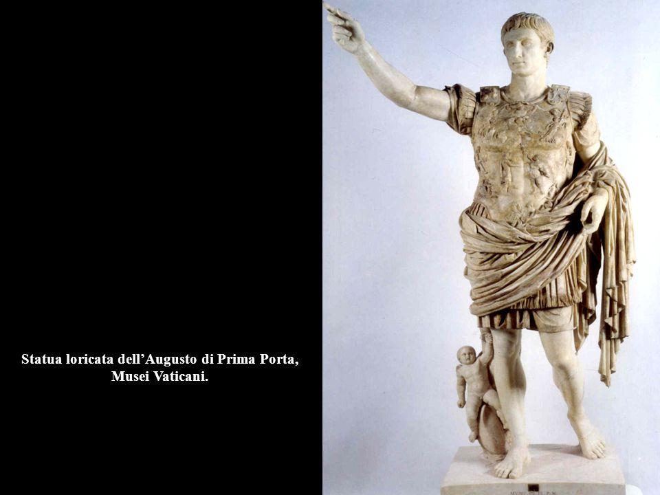 Statua loricata dell'Augusto di Prima Porta, Musei Vaticani.