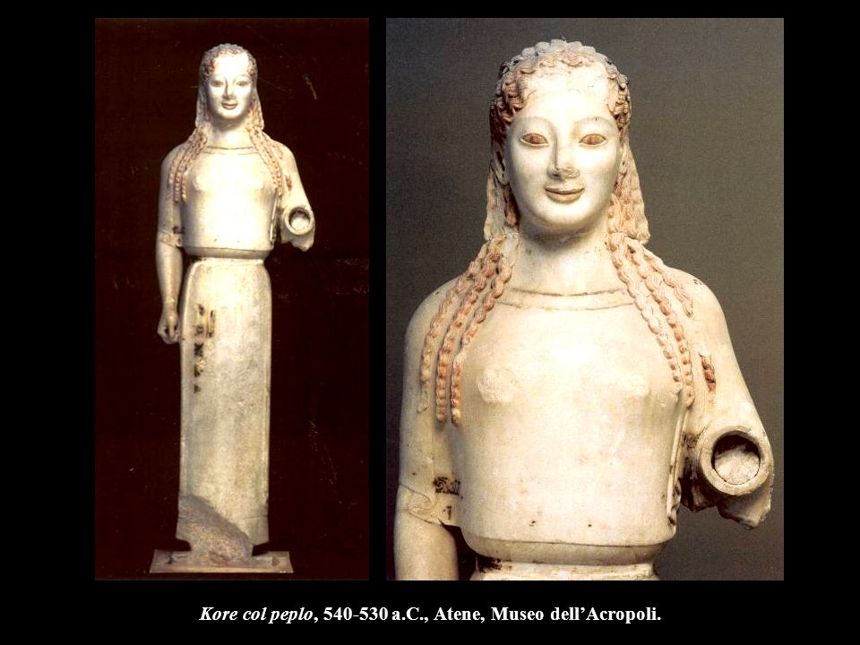 Stele di Paramythion, 370 a.C., Monaco, Glyptothek.
