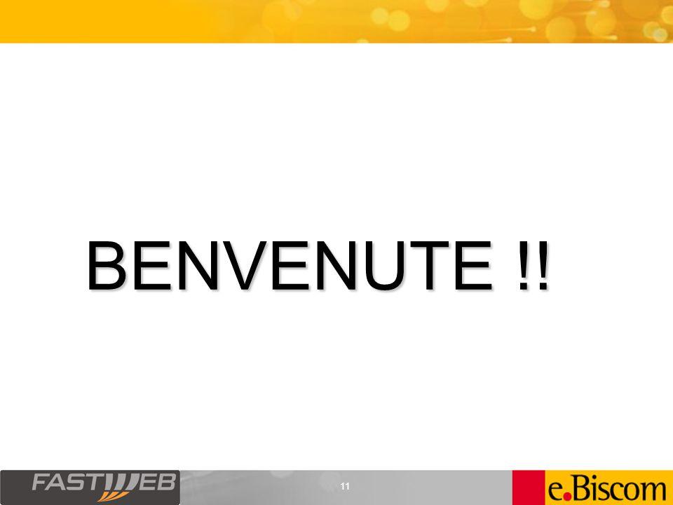 11 BENVENUTE !!