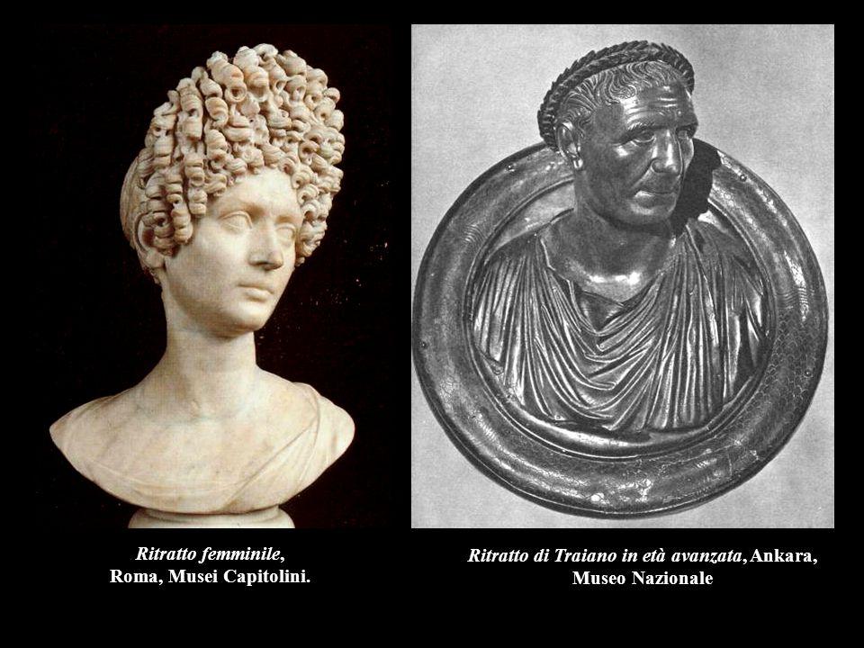Ritratto femminile, Roma, Musei Capitolini.