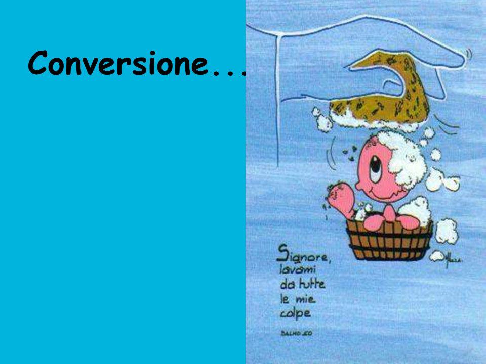 Conversione...