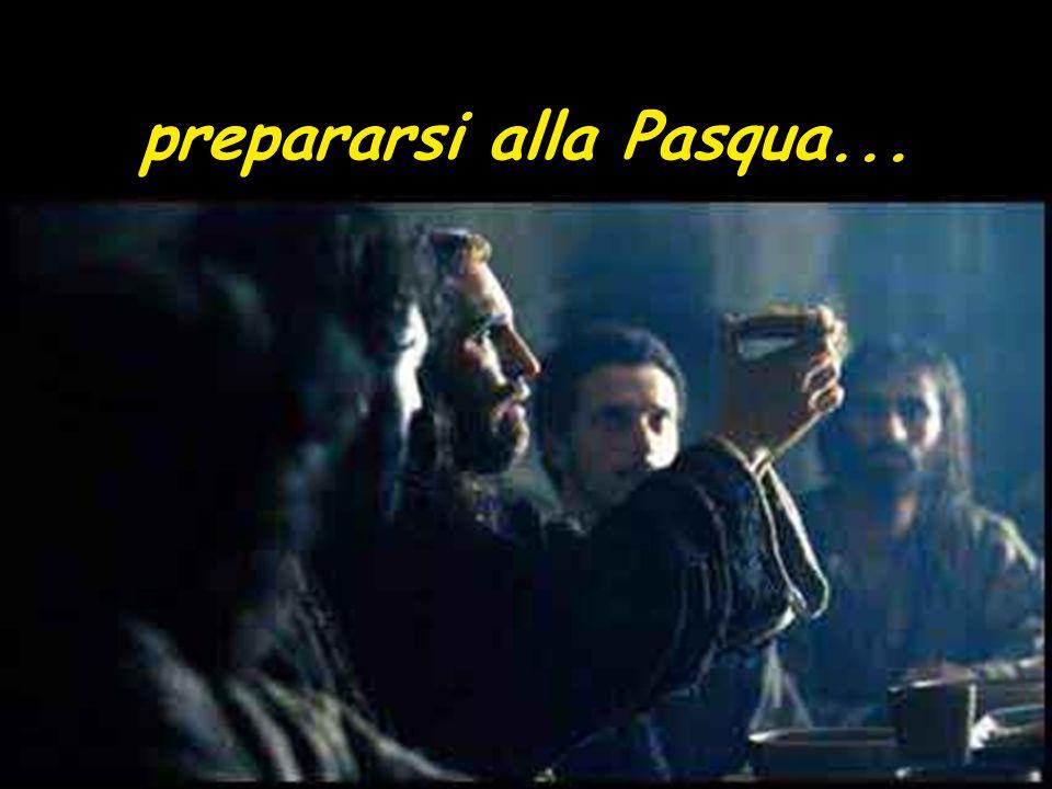 prepararsi alla Pasqua...