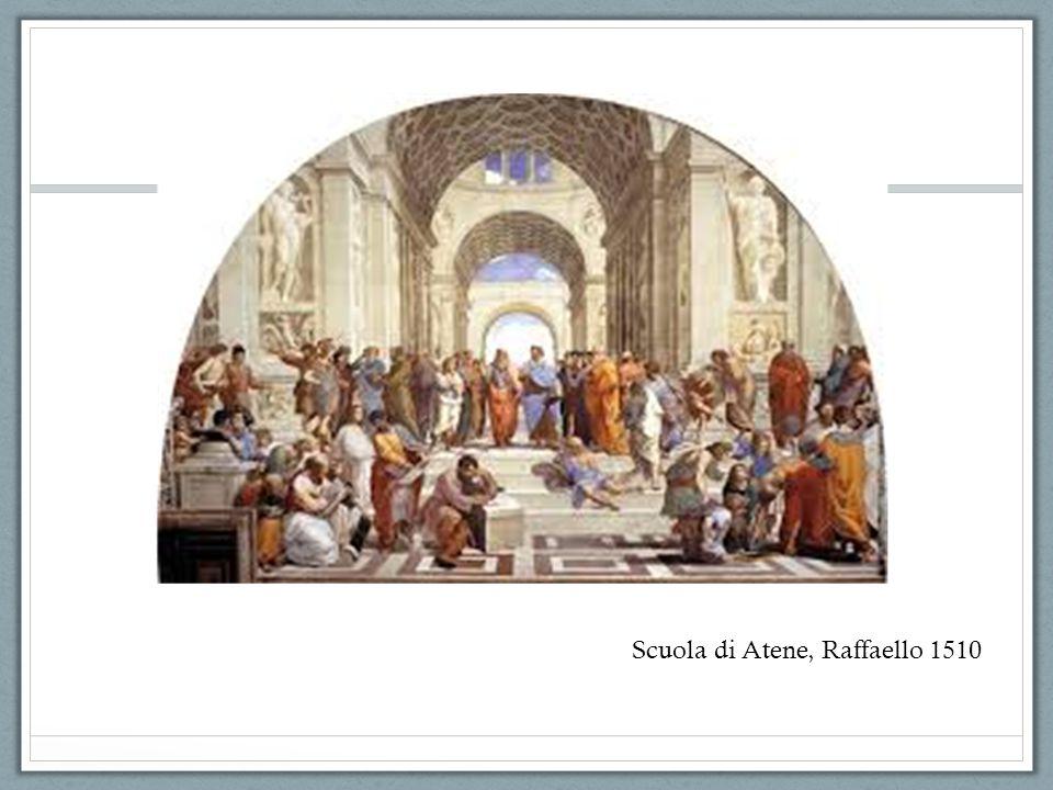 Scuola di Atene, Raffaello 1510