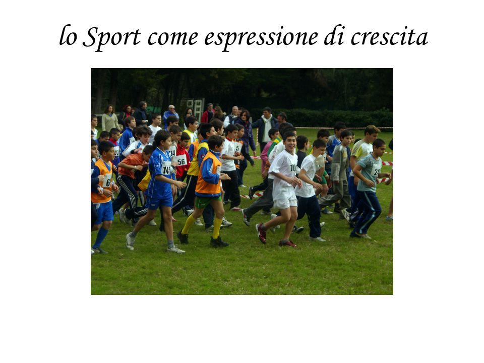 lo Sport come espressione di crescita