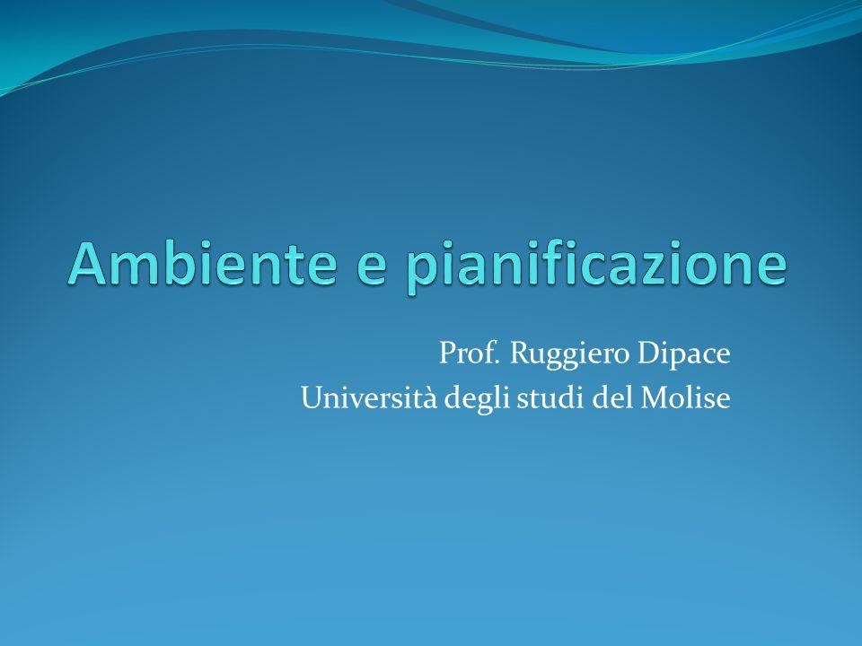 Prof. Ruggiero Dipace Università degli studi del Molise
