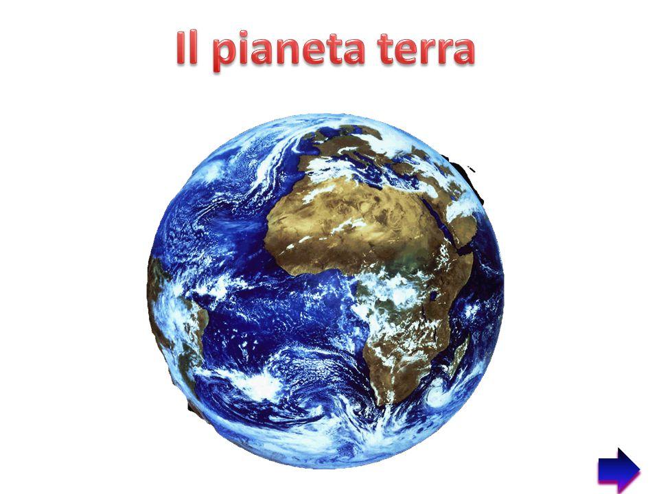 1.La terra è uno dei nove pianeti del sistema solare.