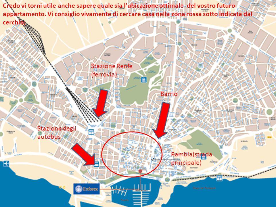 Stazione Renfe (ferrovia) Credo vi torni utile anche sapere quale sia l'ubicazione ottimale del vostro futuro appartamento.