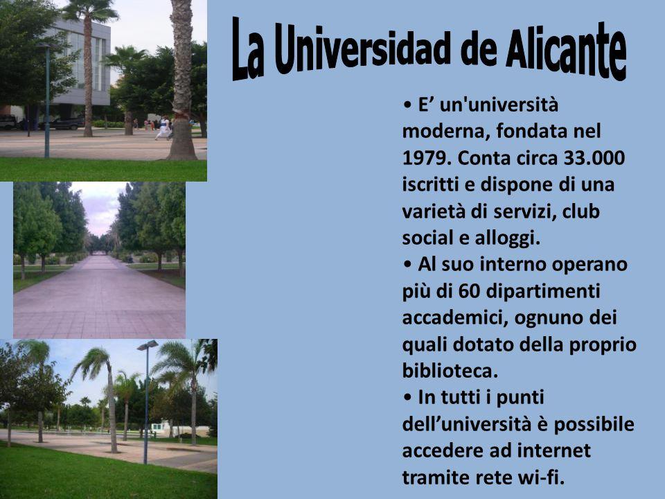 E' un università moderna, fondata nel 1979.