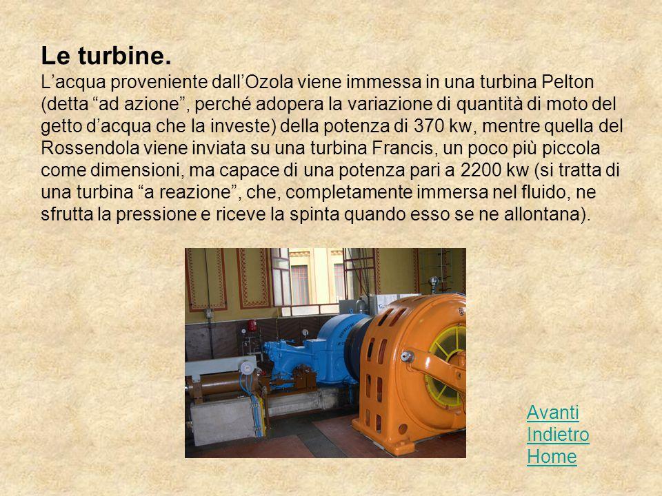Le turbine.