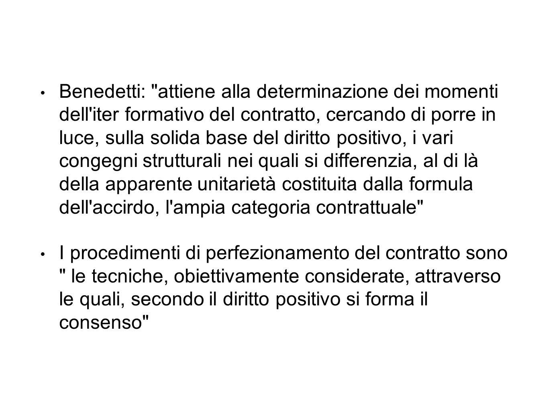 Benedetti: