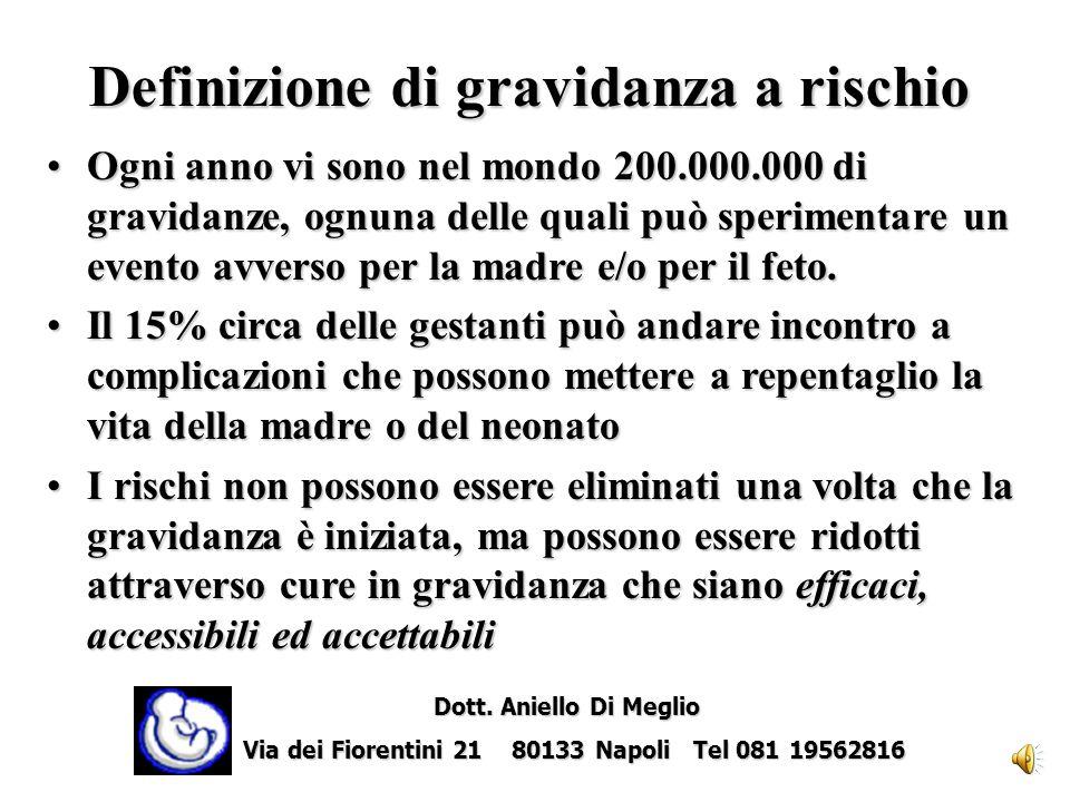 Prevalenza delle infezioni in gravidanza e rischio di trasmissione verticale Dott.ssa L.L. Mazzarelli & Prof. P. Martinelli Dott. Aniello Di Meglio Do