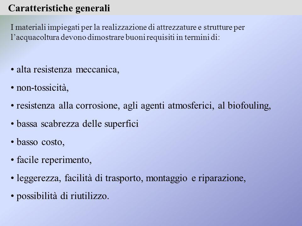 Tabella (continua): principali sistemi di controllo del biofouling e loro caratteristiche