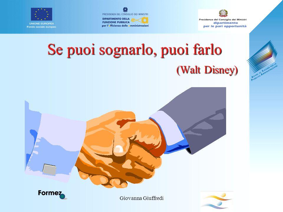 Giovanna Giuffredi Se puoi sognarlo, puoi farlo (Walt Disney)