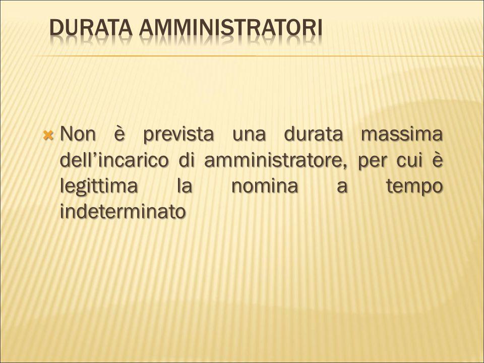  Salvo  Salvo Salvo diversa disposizione dell'atto costitutivo,  l'amministrazione  l'amministrazione l'amministrazione della società è affidata a