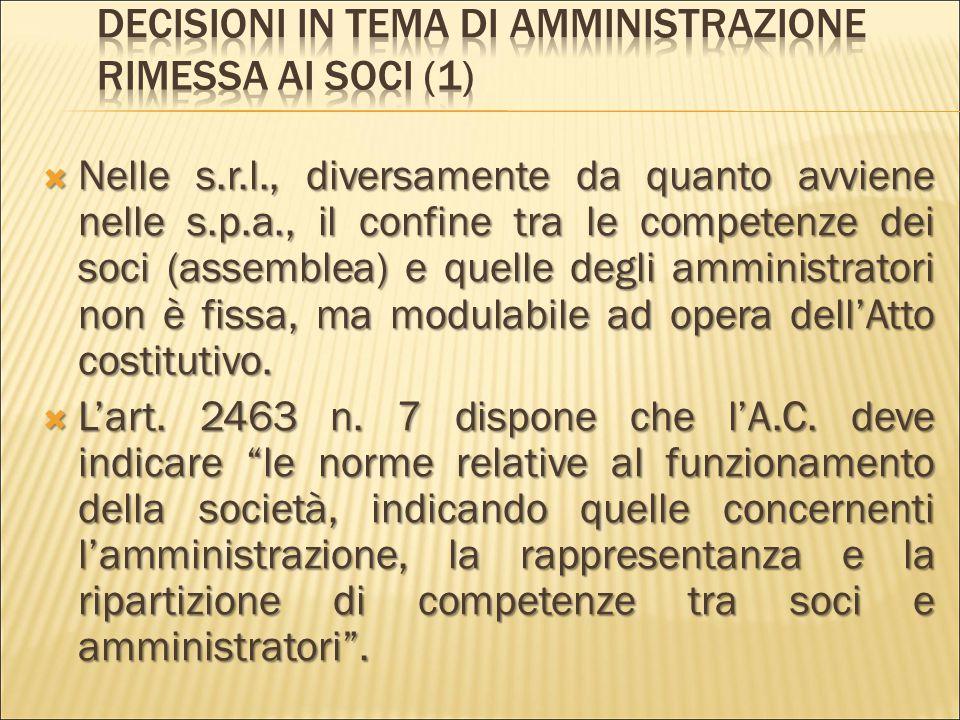  Non  Non Non è prevista una durata massima dell'incarico di amministratore, per cui èèèè legittima la nomina a tempo indeterminato