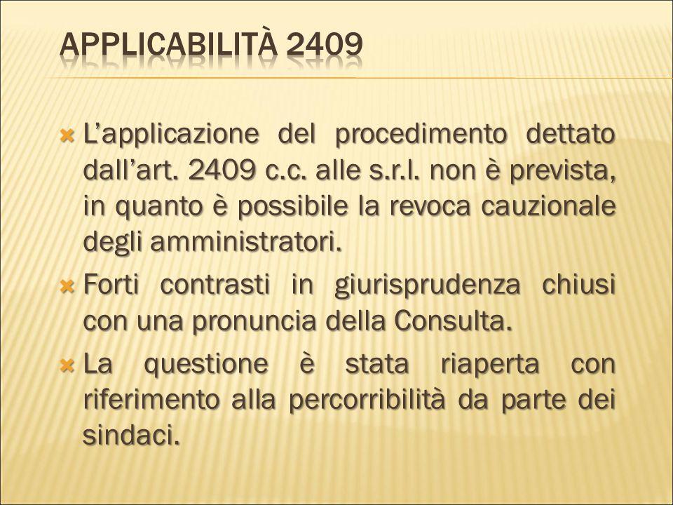  Chiaramente collegato all'azione di responsabilità proposta da ogni socio è il nuovo potere di controllo, che l'art. 2476 (2° c.) gli attribuisce: «