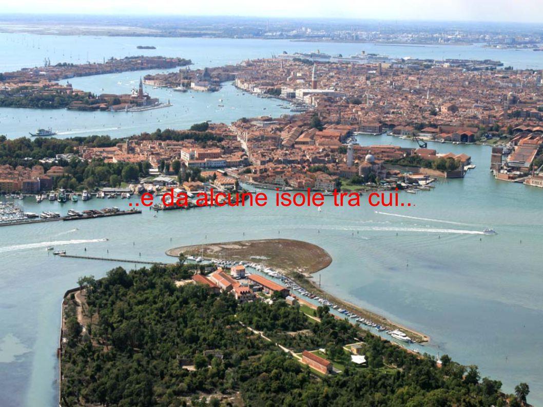 ..e da alcune isole tra cui...