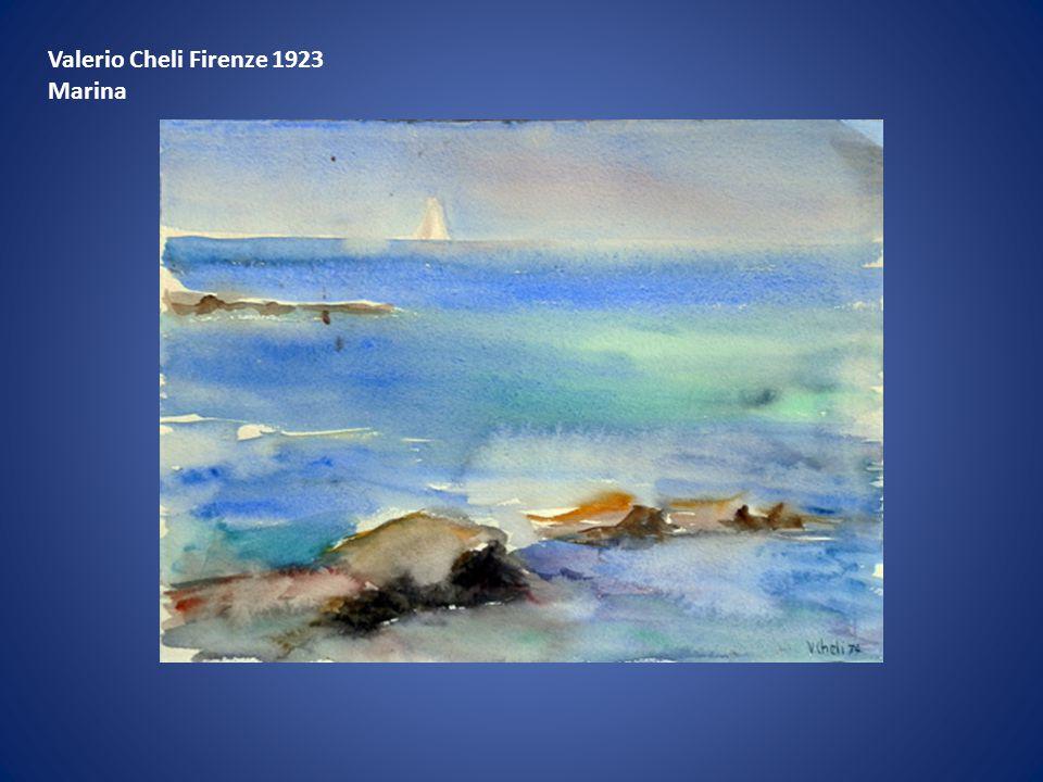 Valerio Cheli Firenze 1923 Marina