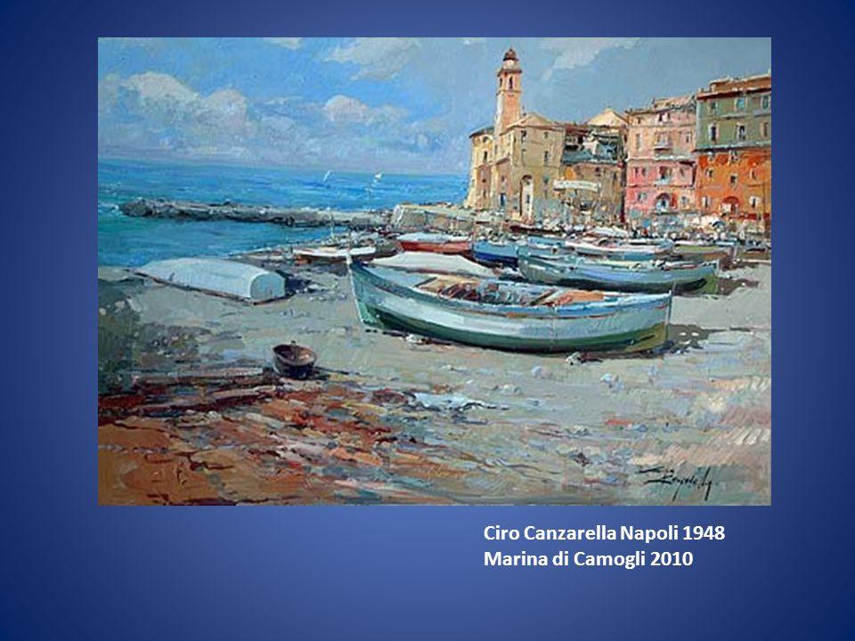 Ciro Canzarella Napoli 1948 Marina di Camogli 2010