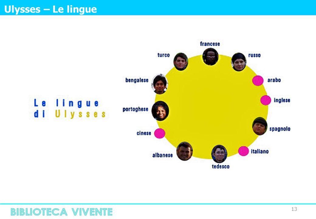 13 Ulysses – Le lingue
