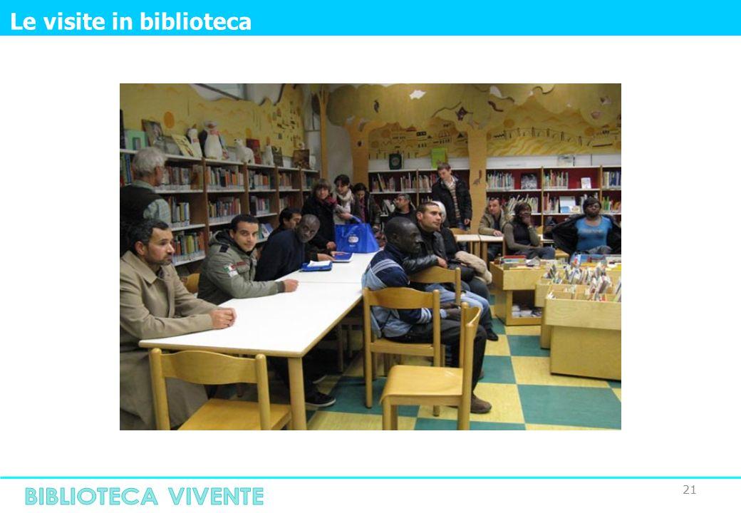 21 Le visite in biblioteca