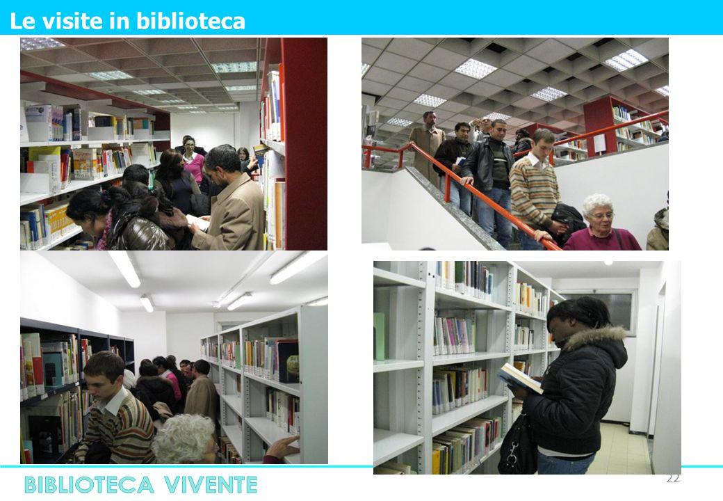 22 Le visite in biblioteca