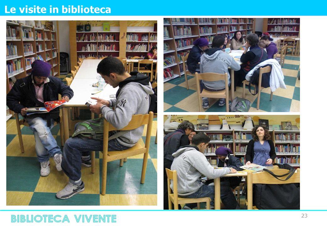 23 Le visite in biblioteca