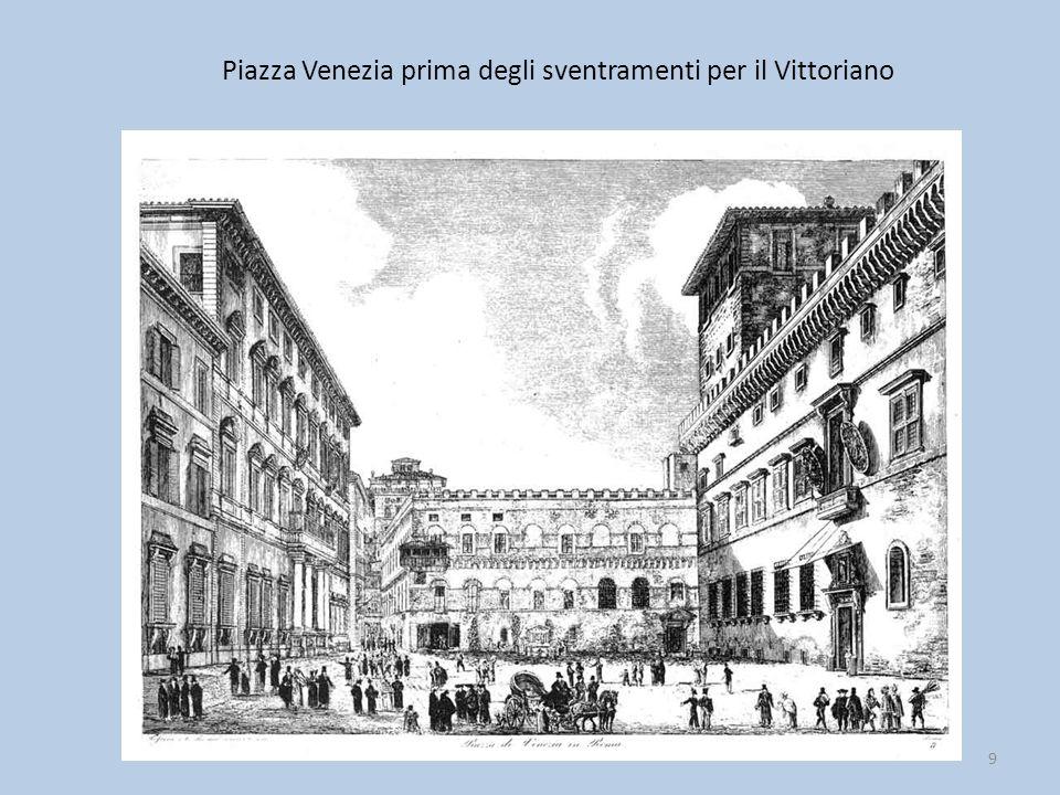Piazza Venezia prima degli sventramenti per il Vittoriano 9
