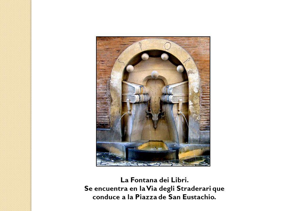 La Fontana dei Libri.