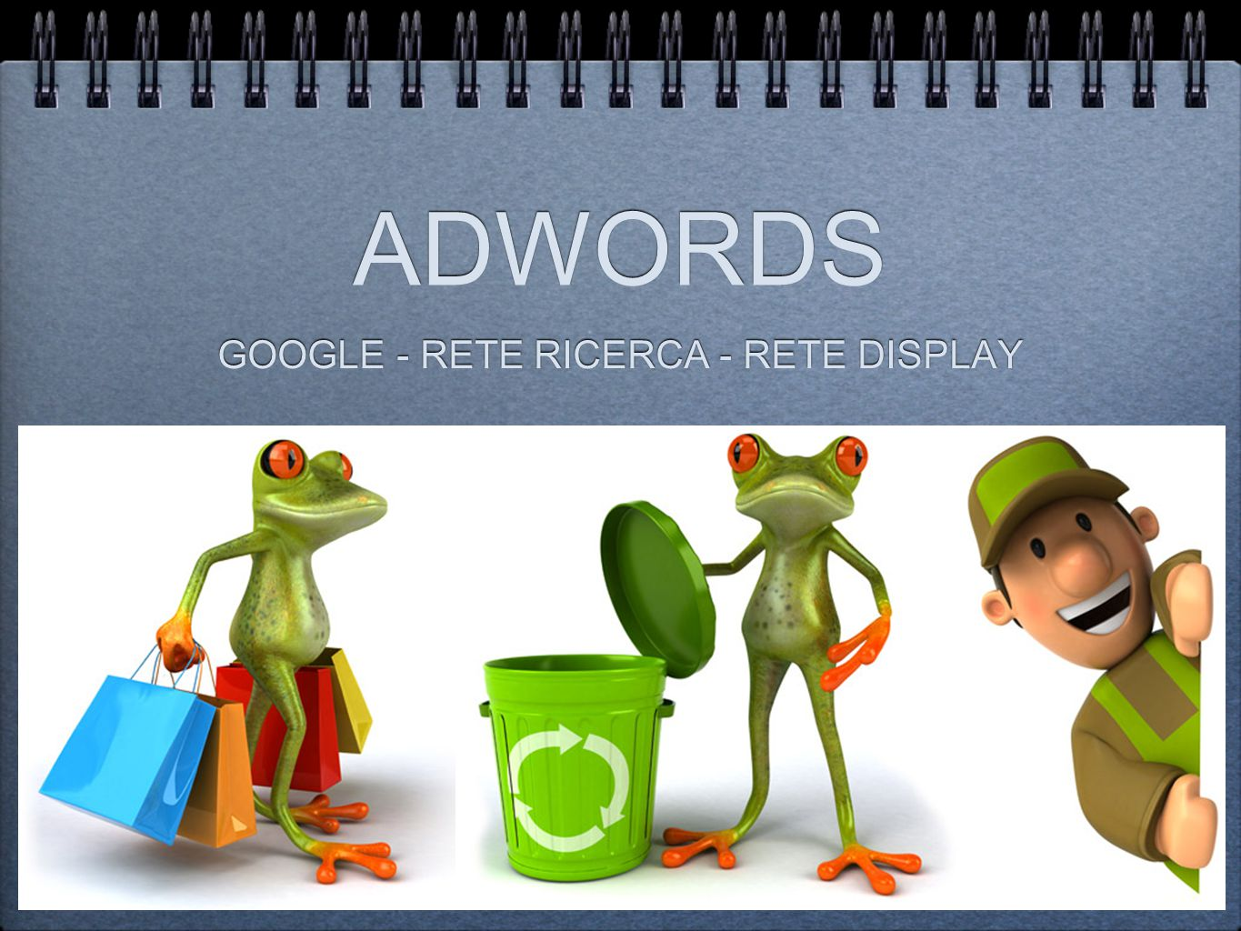ADWORDS GOOGLE - RETE RICERCA - RETE DISPLAY