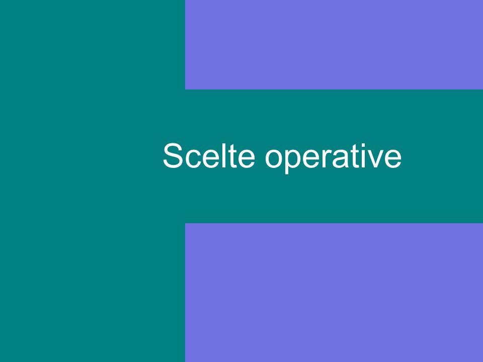 Scelte operative