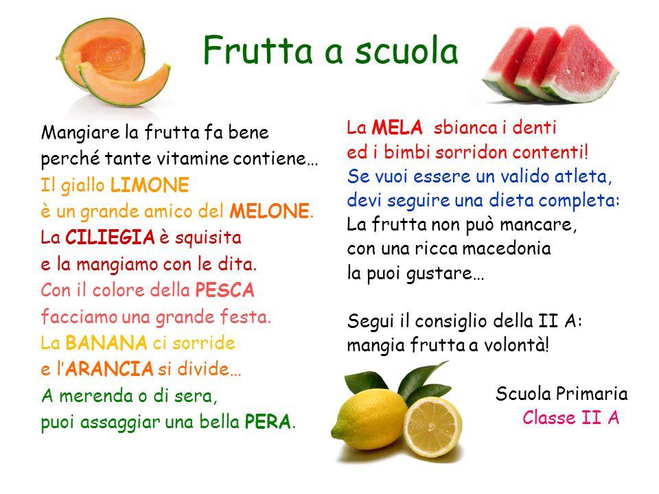 Ist. Comprensivo San Cesareo Scuola Primaria classe II A Ins. Fiorella Capoleoni a.s.: 2014/15