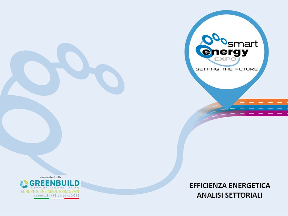 EFFICIENZA ENERGETICA ANALISI SETTORIALI