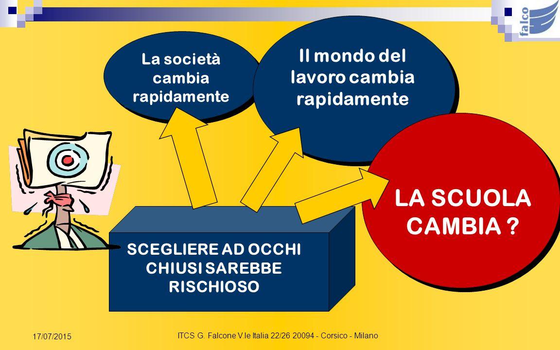 ITCS G. Falcone V.le Italia 22/26 20094 - Corsico - Milano 17/07/2015