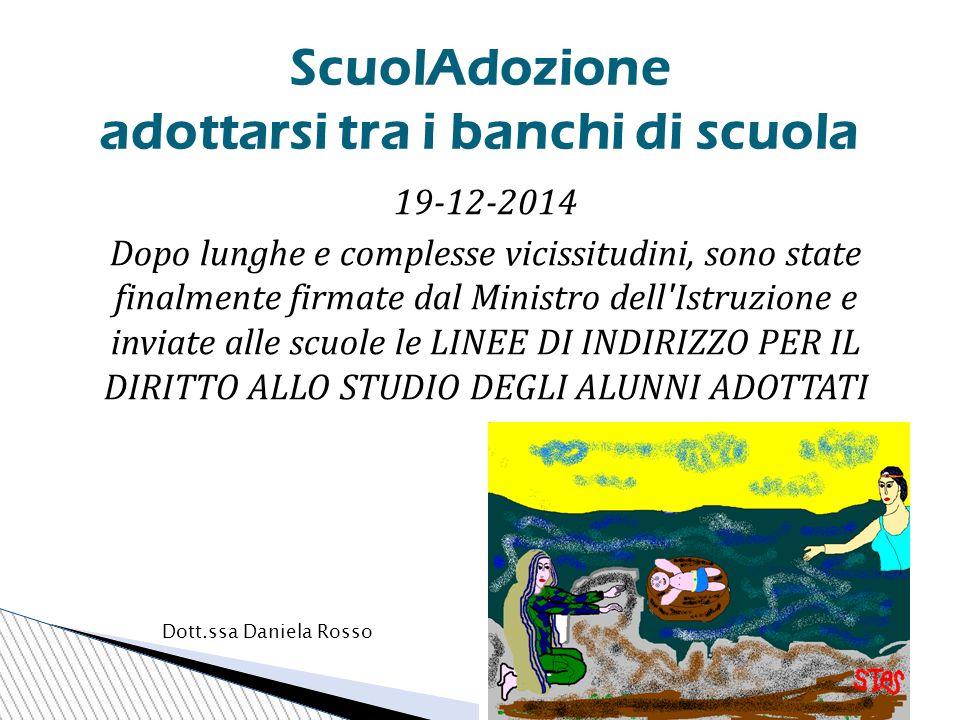  In Italia, soltanto nel periodo 2010-2013, sono stati adottati circa 14.000 bambini con l'adozione internazionale e oltre 4000 con quella nazionale.