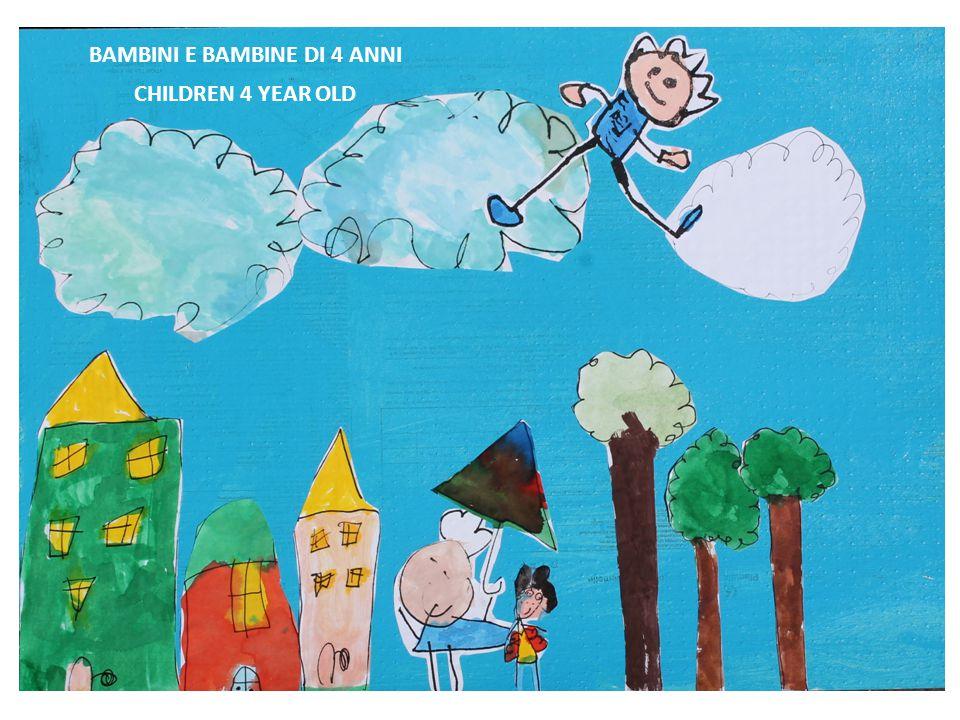 BAMBINI E BAMBINE DI 4 ANNI CHILDREN 4 YEAR OLD