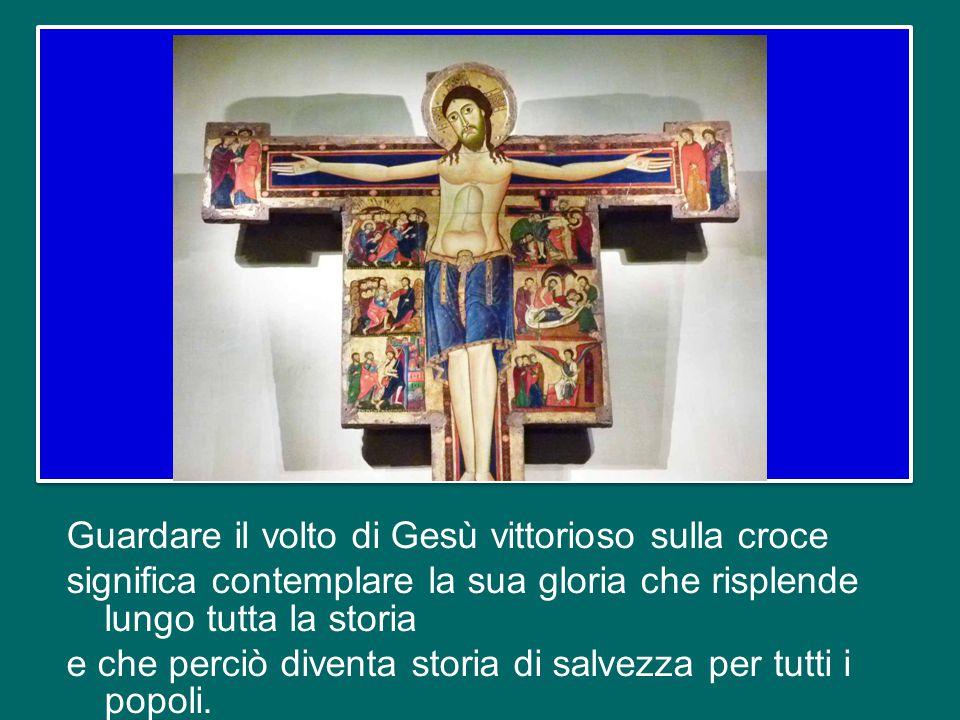 In questa ricerca del volto glorioso del Signore possiamo giungere anche noi solo attraverso la sua Pasqua, vale a dire nel compiere il nostro passagg