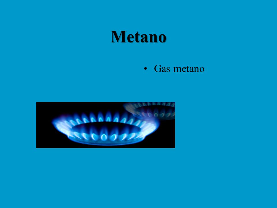 Metano Gas metano