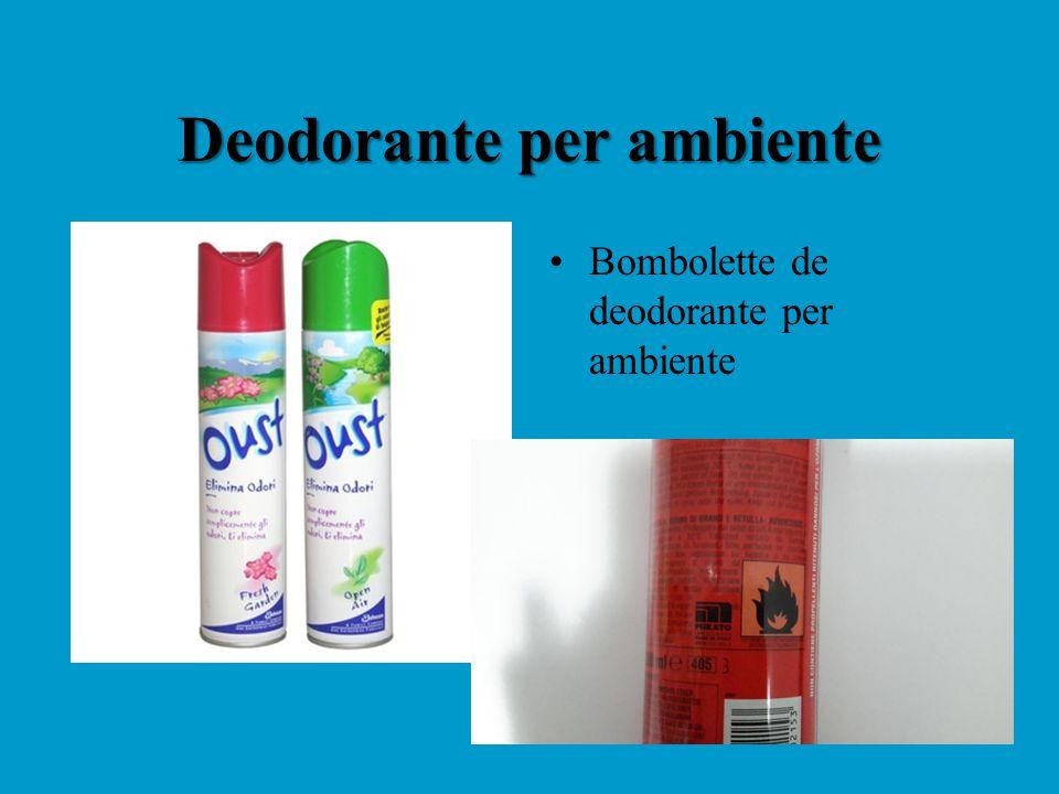 Deodorante per ambiente Bombolette de deodorante per ambiente