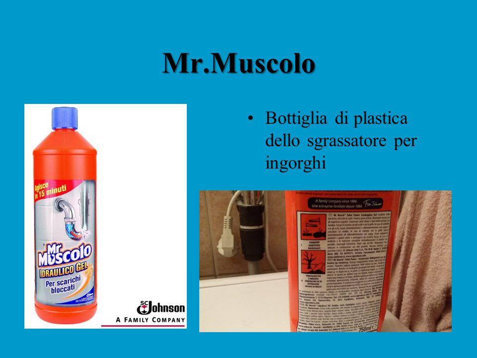 Mr.Muscolo Bottiglia di plastica dello sgrassatore per ingorghi