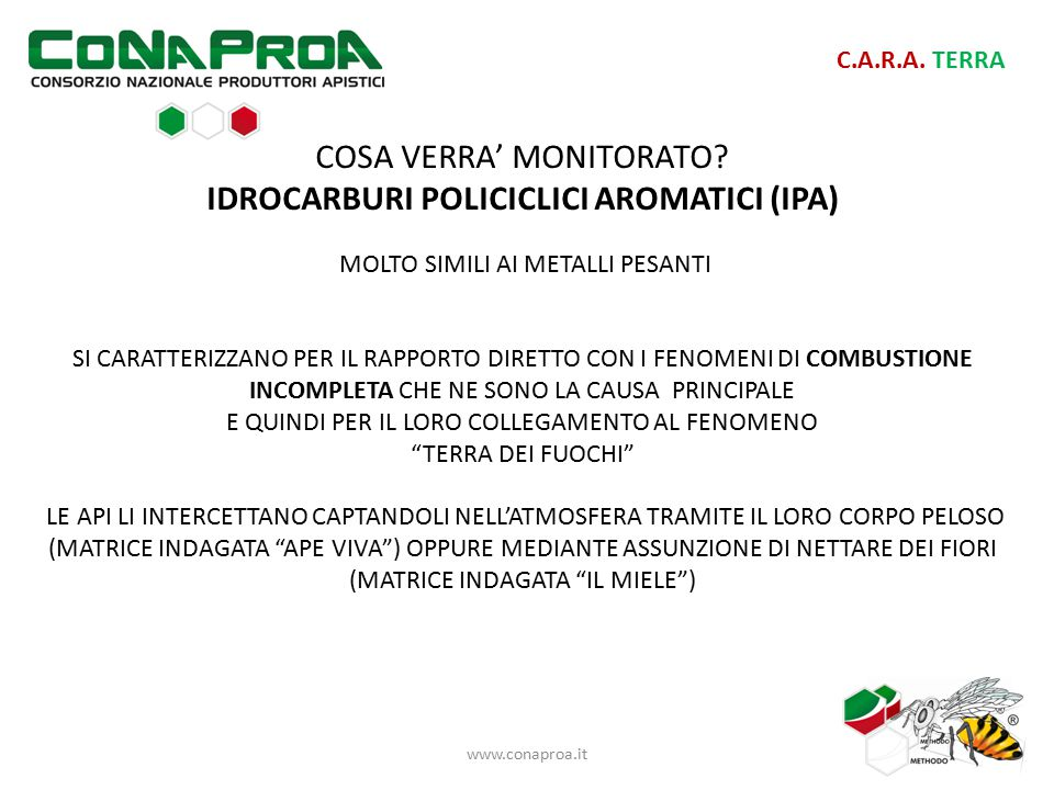 www.conaproa.it C.A.R.A. TERRA COSA VERRA' MONITORATO.