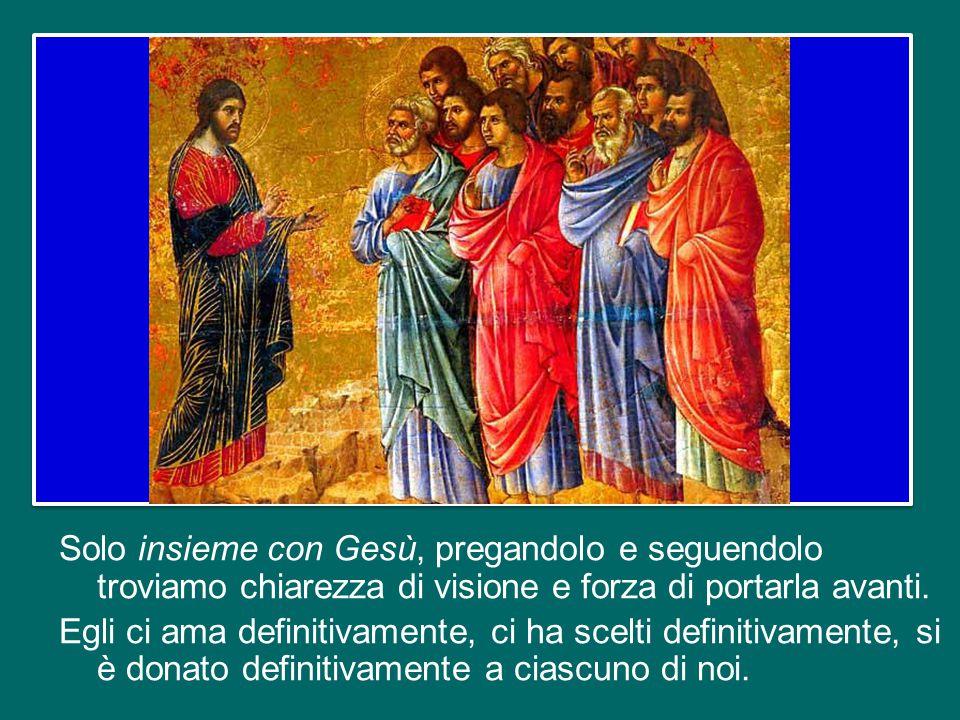 E qui entra l'invito del Signore Gesù: Se vuoi… seguimi .