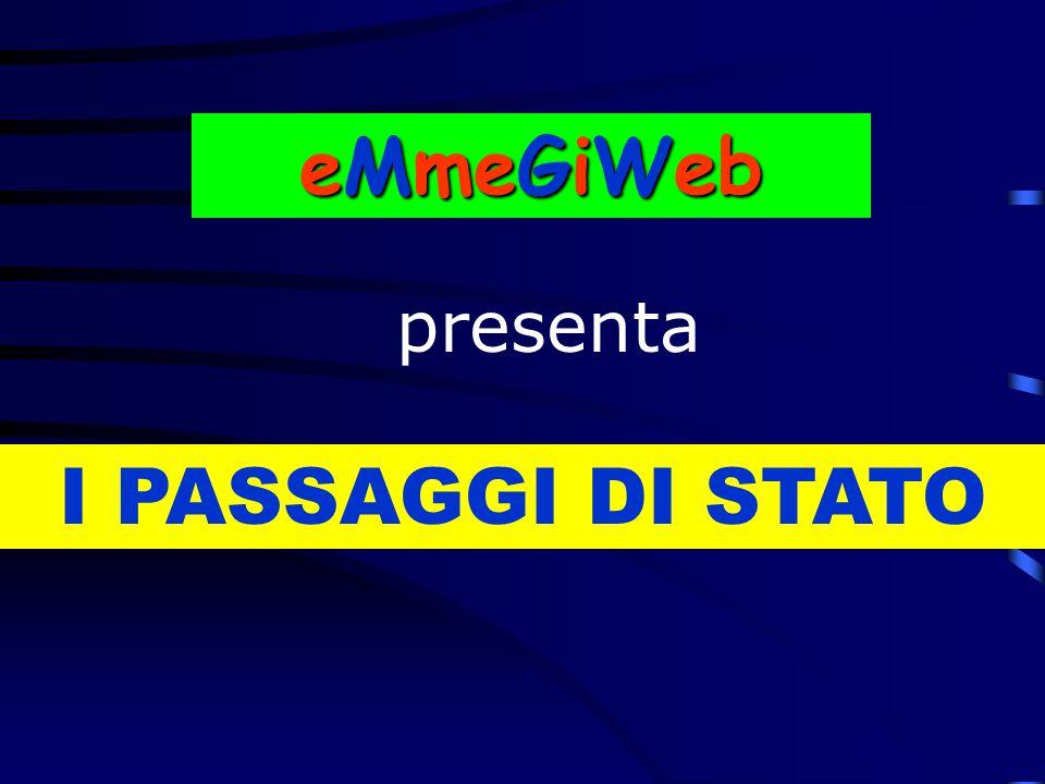 I PASSAGGI DI STATO eMmeGiWeb presenta